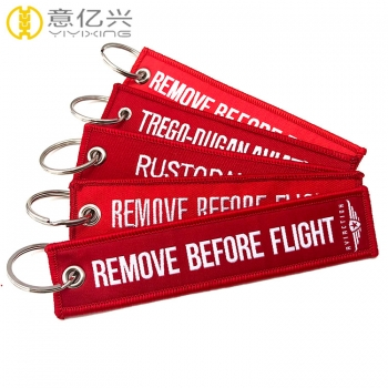 Professional China wholesale custom remove before flight keychain