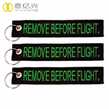 remove tag before flight