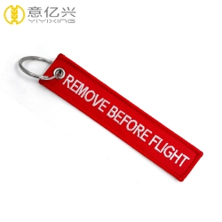 Custom made logo brand name remove before flight jacket tag