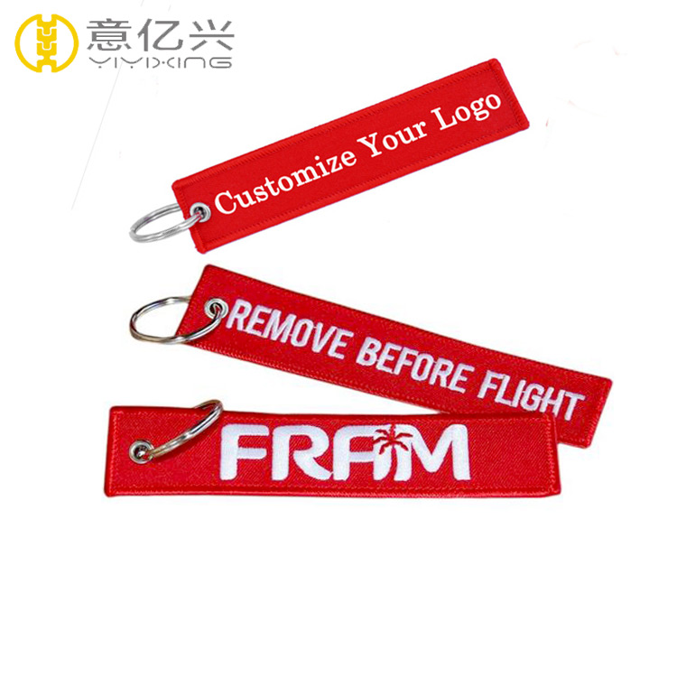 fashionable wholesale jet tag keychain for custom name key chains