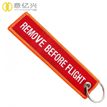 remove before takeoff keychain