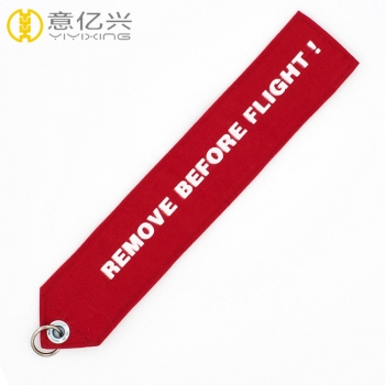 take off before flight keychain