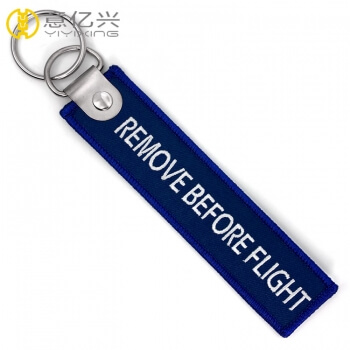 remove before flight tag on jacket