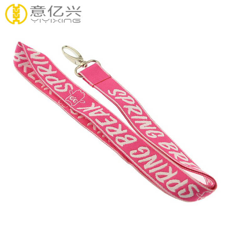 Top Sale Personalized Jacquard Printed Lanyards For Women