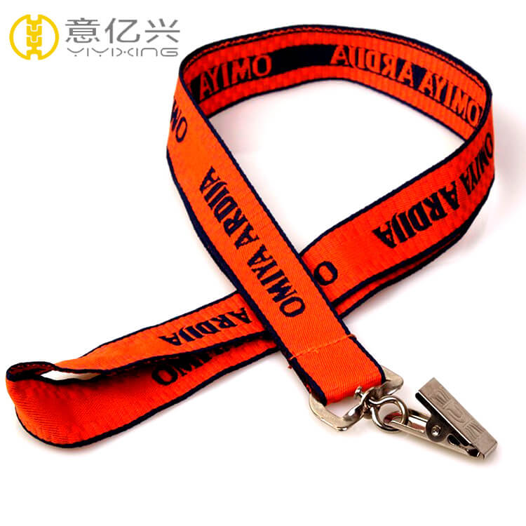 Custom Cheap Fashion Neck Printed Jacquard Lanyards for Sale