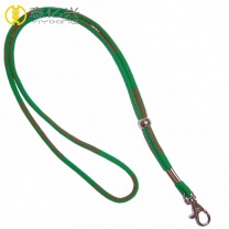 Promotional polyester round neck lanyard rope cord