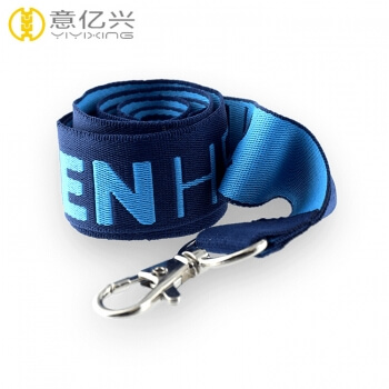 Eco-friendly jacquard logo custom printed lanyards wholesale
