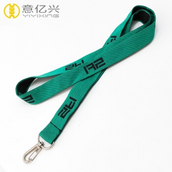 Wholesale custom jacquard exhibition design your own lanyard