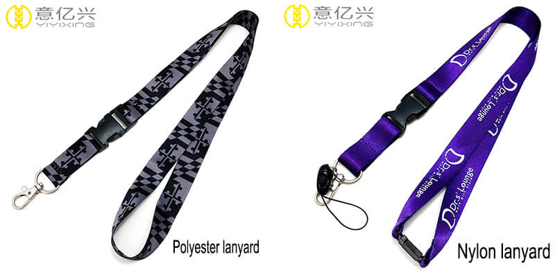 polyester lanyard and nylon lanyard