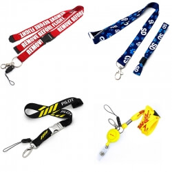 Custom made lanyards color and accessories with tips?