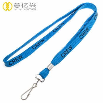 High quality single custom tube tubular lanyard China wholesale