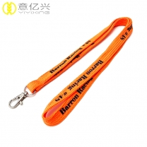 100% polyester cheap printed custom tube lanyard for sale