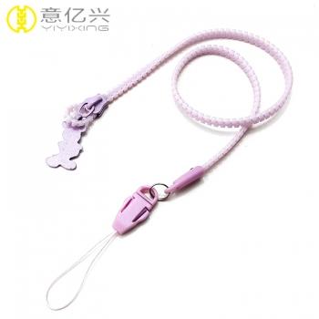 lanyard zipper