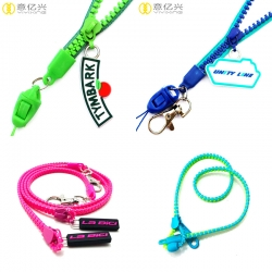 How do we choose a resin zipper lanyard?