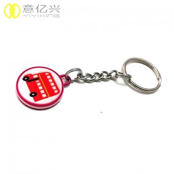 rubber keychain custom