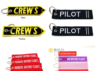 Custom embroidered key tags- a great gift