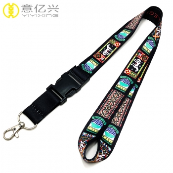 Wholesale Custom Printed North Face Lanyard From China
