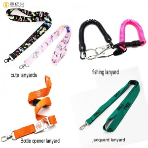 Different people will need different badge lanyards