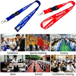 Advantages and disadvantages of several materials of lanyard (Part 1)