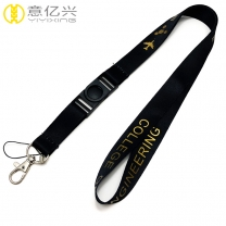 Factory price custom design your own lanyard for single or double logo