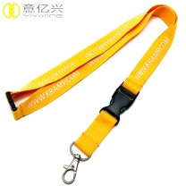 New Design Polyester Tape Custom Neck Lanyard with Your Own Logo