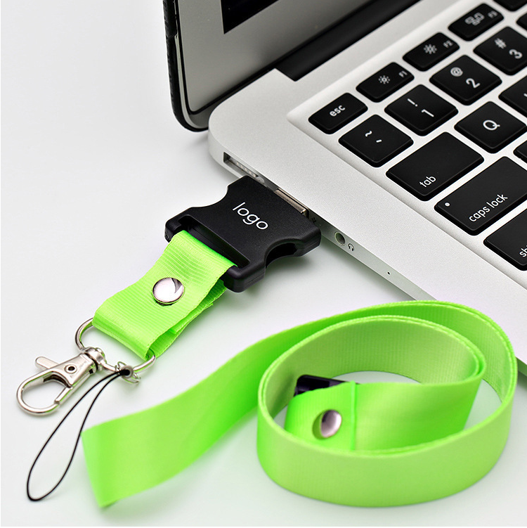 Order personalized encrypted flash drive Lanyard