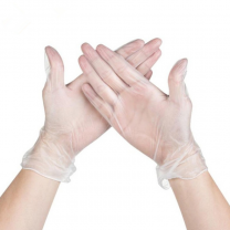 Disposable Clear Nitrile Gloves