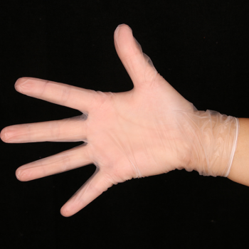 Clear Nitrile Gloves (3)