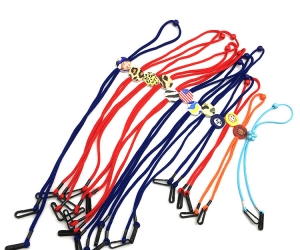 Wholesale Custom Logo Colors Adjustable Kids Masking Holder Neck Strap Lanyard