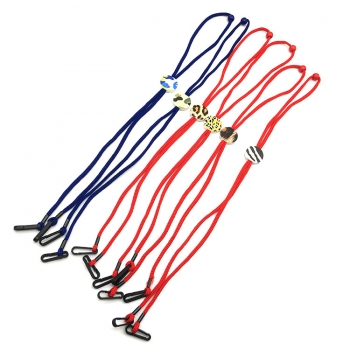 Wholesale Custom Logo Colors Adjustable Kids Masking Holder Neck Strap Lanyard