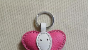 Beautiful and cute female keychain handmade