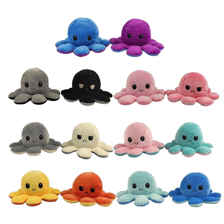 Reversible Octopus Plushie Color