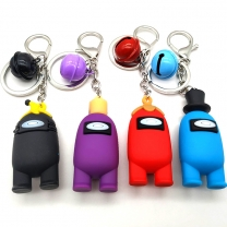 Among Us Game Peripheral Keychain
